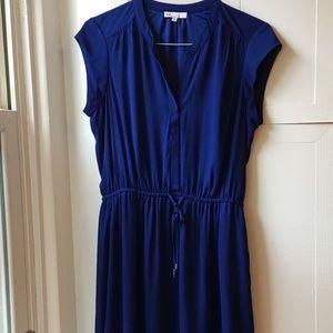 DR2 Blue Cinch Waist Dress